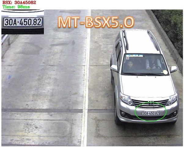 Nhận dạng biển số ô tô Việt Nam với Mắt Thần MT-BSX5.0